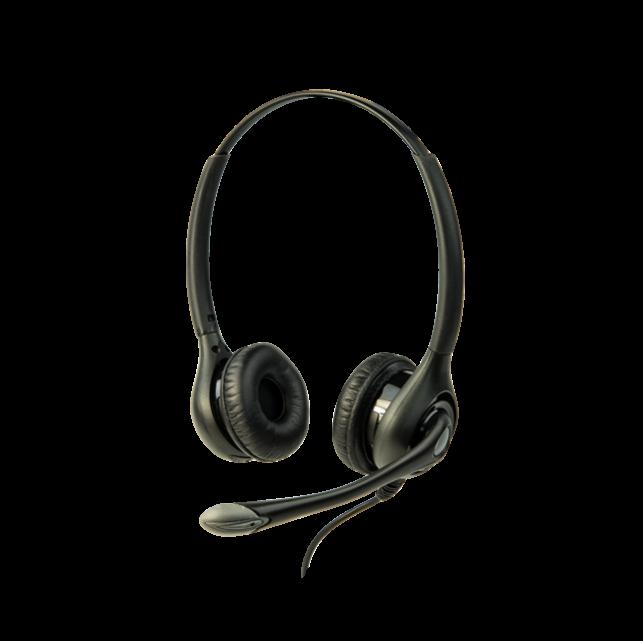 Z-LA-453 Headset 3 (Over head dual w/Boom mic)