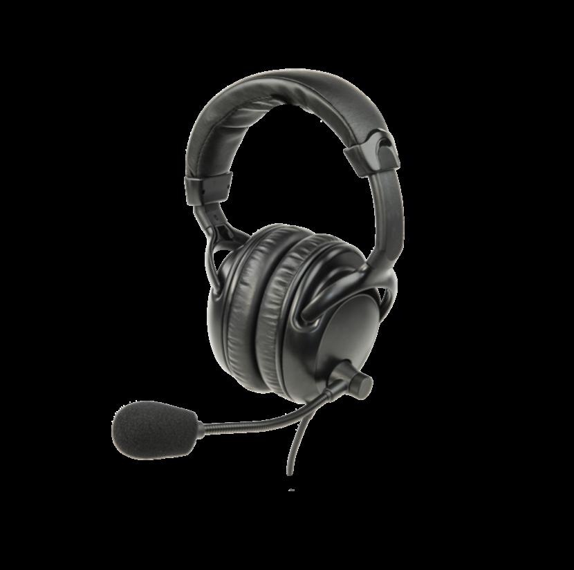 Z-LA-454 Headset 4 (Over ears Dual w/Boom mic)
