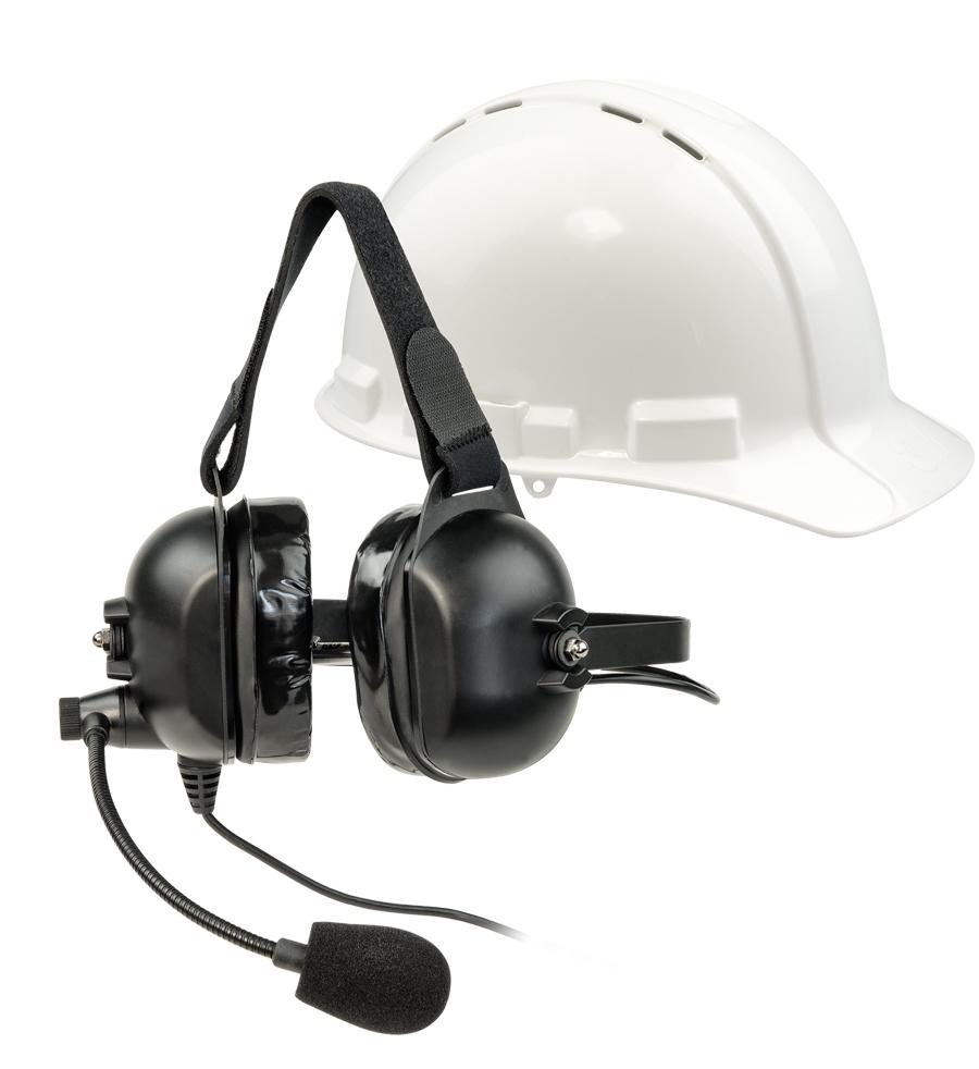 Z-LA-455 Headset 5 (over ears Industrial w/Boom mic)