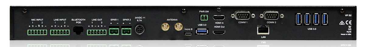 W-VP S2 Audio Presenter HUB Presentation Switcher