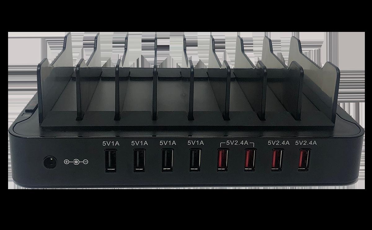 W-CHG 408 DW-02 8 slot charger