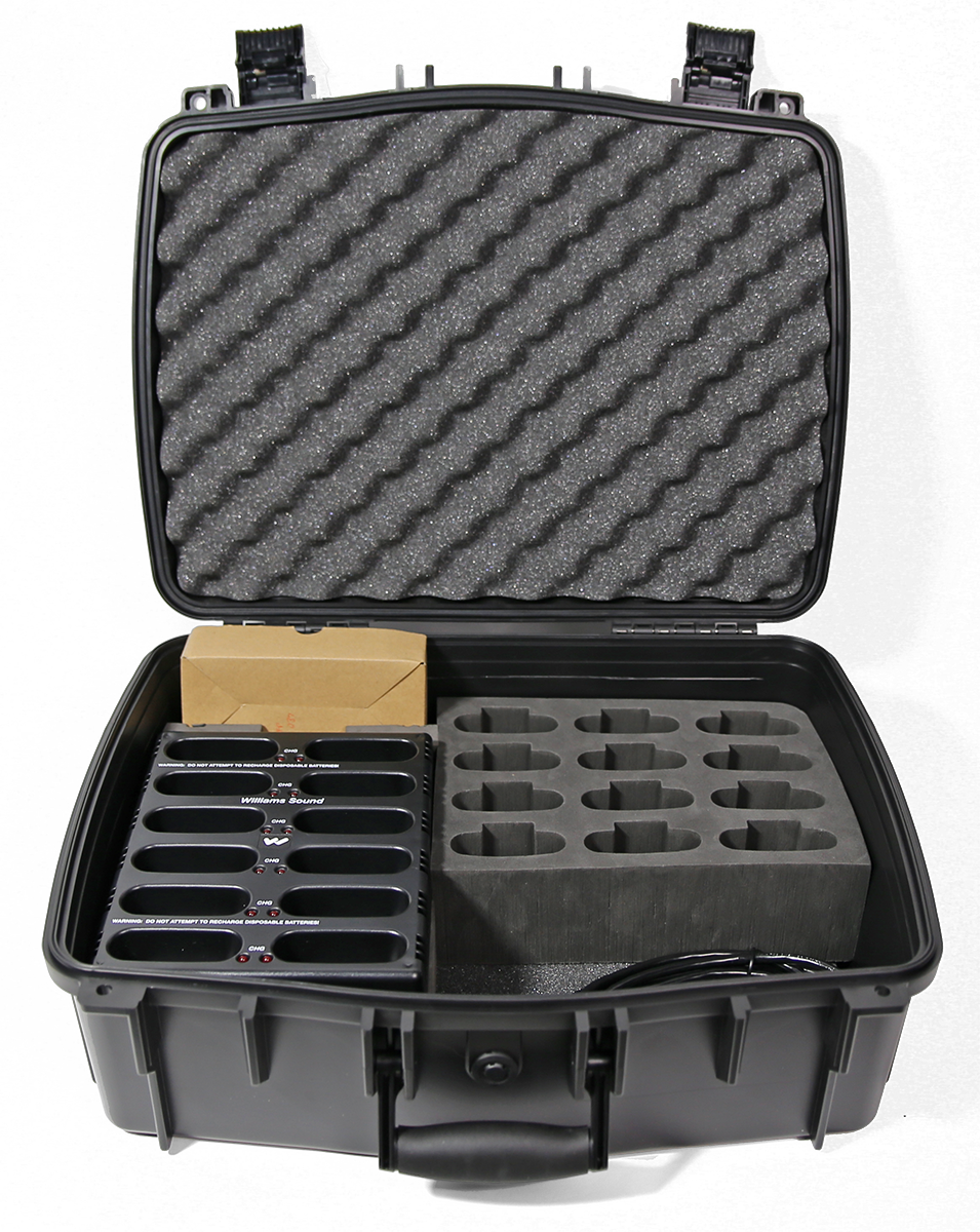 W-CHG 3512 PRO Body pack charger w/case