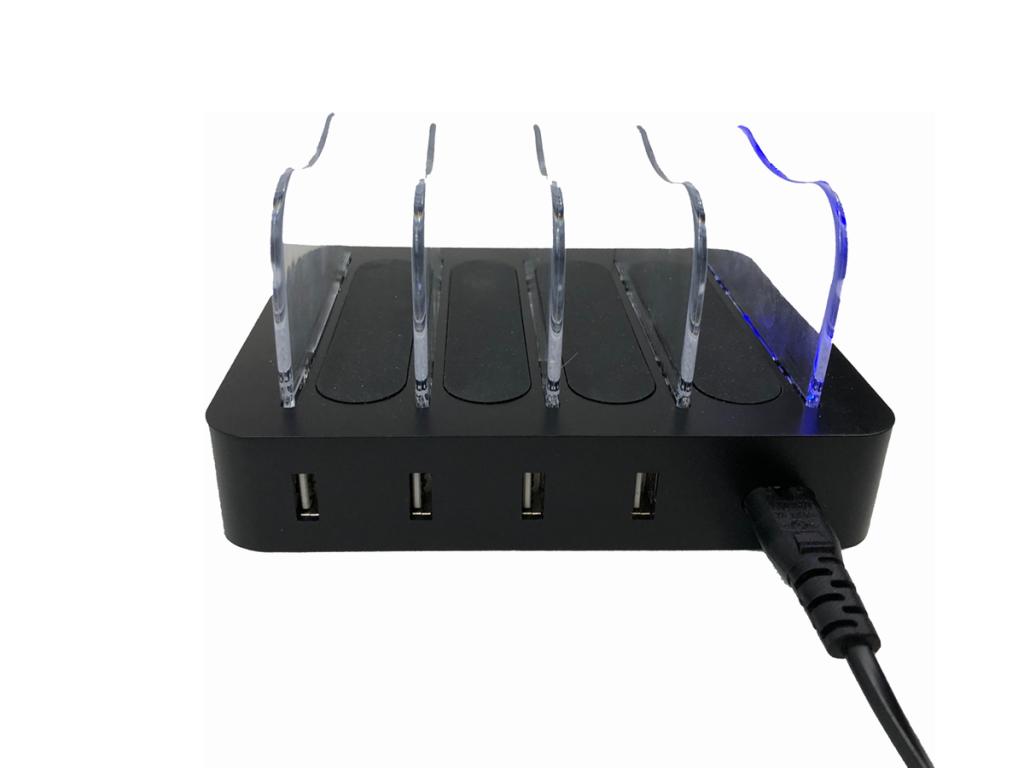 W-CHG 404 DW-02 4 slot charger