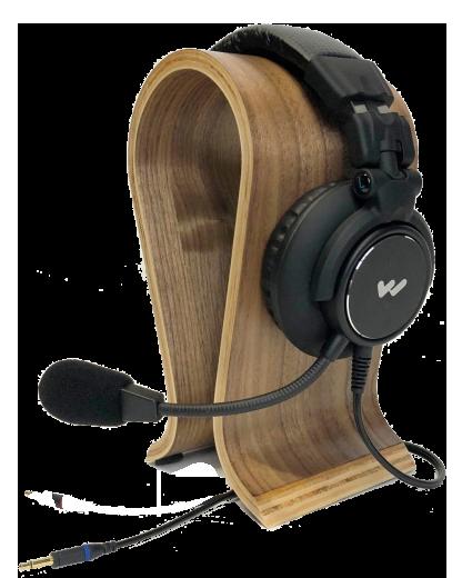 W-MIC 157 Single-muff headset mic
