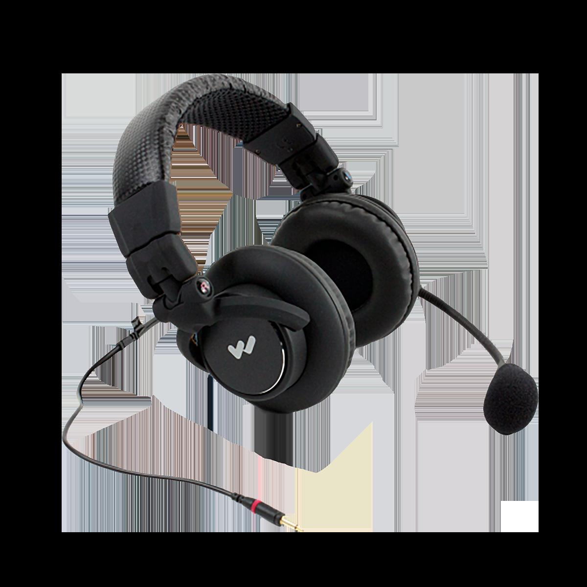 W-MIC 158 Dual-muff headset mic
