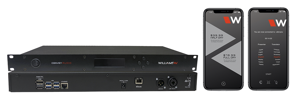 W-TL S10 Convey Audio – coming soon!