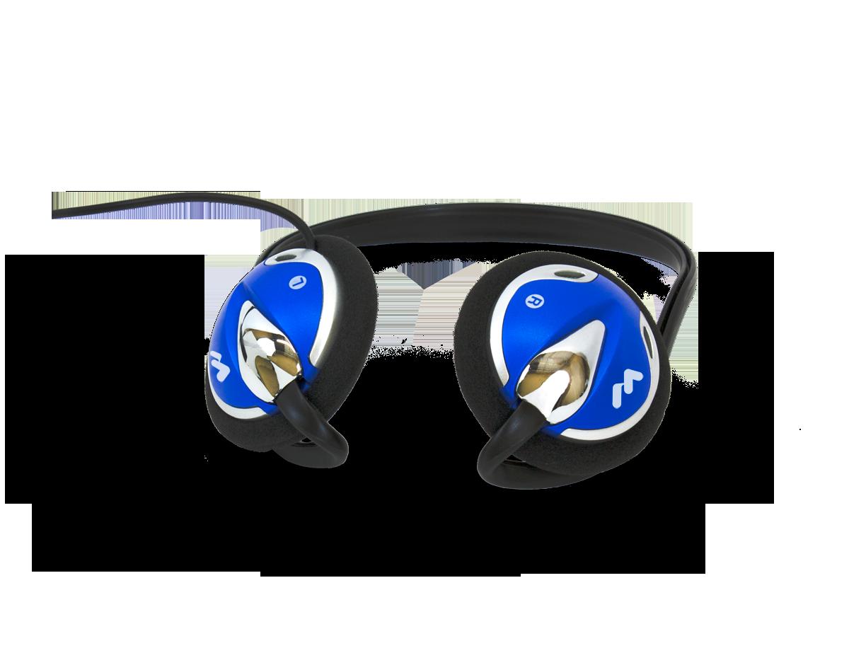 W-HED 026 Rear-wear mono headphones