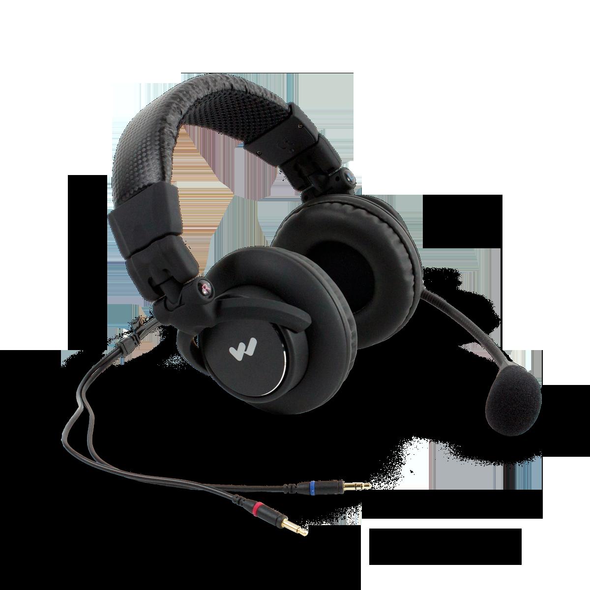 W-MIC 058 Dual muff headset mic