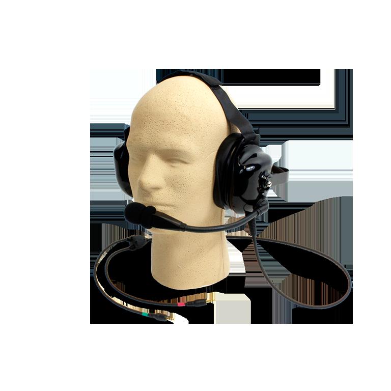 W-MIC 088 Dual muff hardhat headset mic