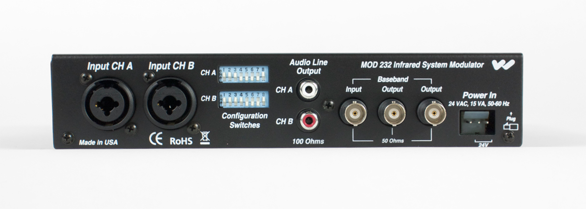 W-MOD 232 Two-channel IR Modulator