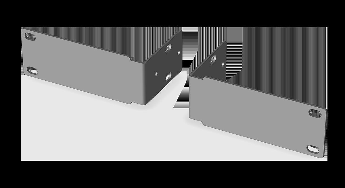 W-RPK 009 Rack panel kit for BluePOD Solo