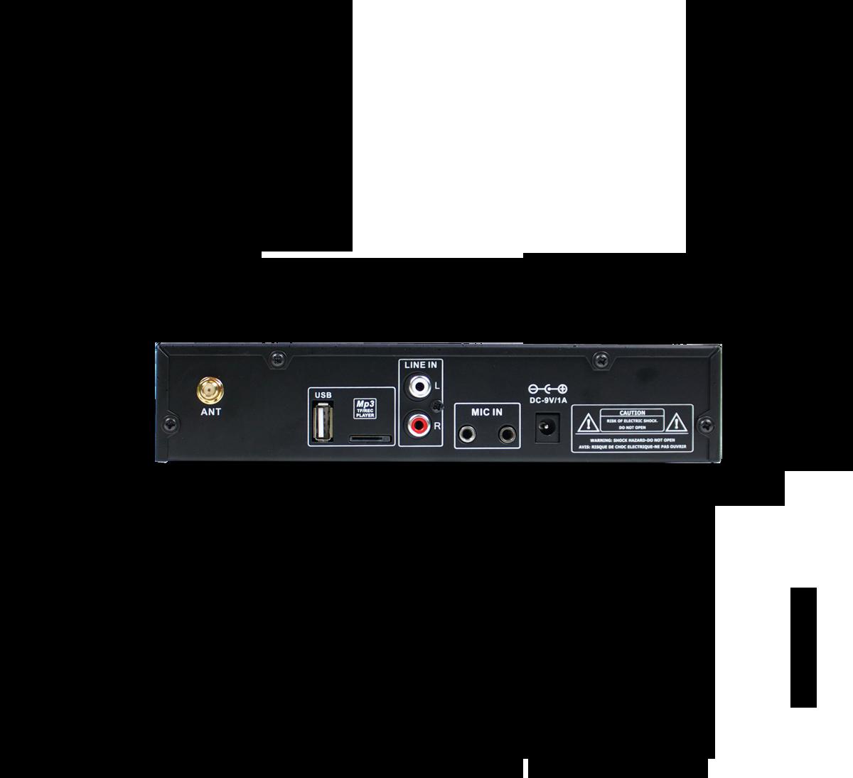 Large area FM base transmitter 863-865 MHz.